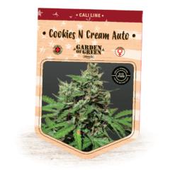 Cookies N Cream Auto - Girl Scout Cookies Auto x Cream Caramel Auto - Cannabis Seeds - Garden of Green