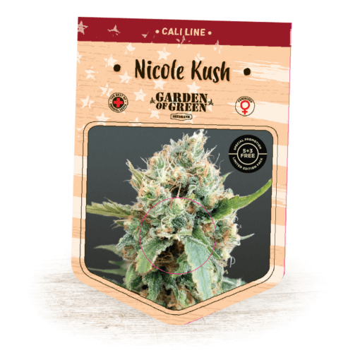Nicole Kush - Kosher Kush x Nicole   Cannabis Seeds   Cali Line   Garden of Green