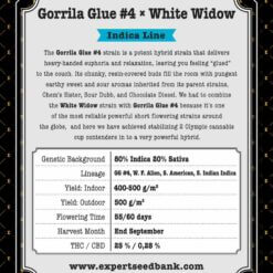 GorrillaGlue4 WhiteWidow back 1