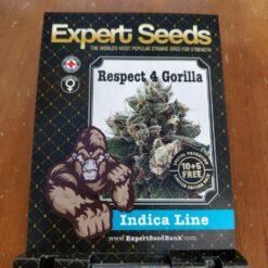 Respect 4 Gorilla Expert Seeds Irish Seed Bank 1
