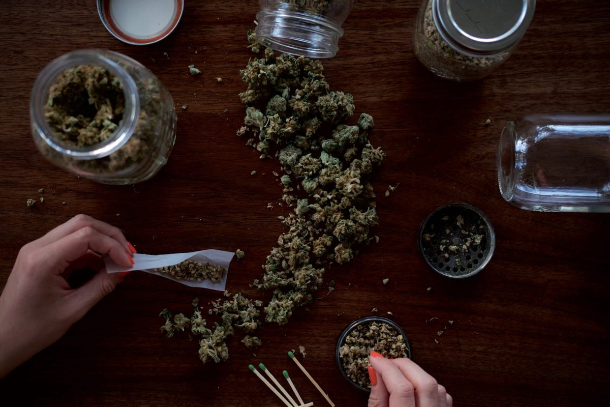 how to grind up weed without a grinder